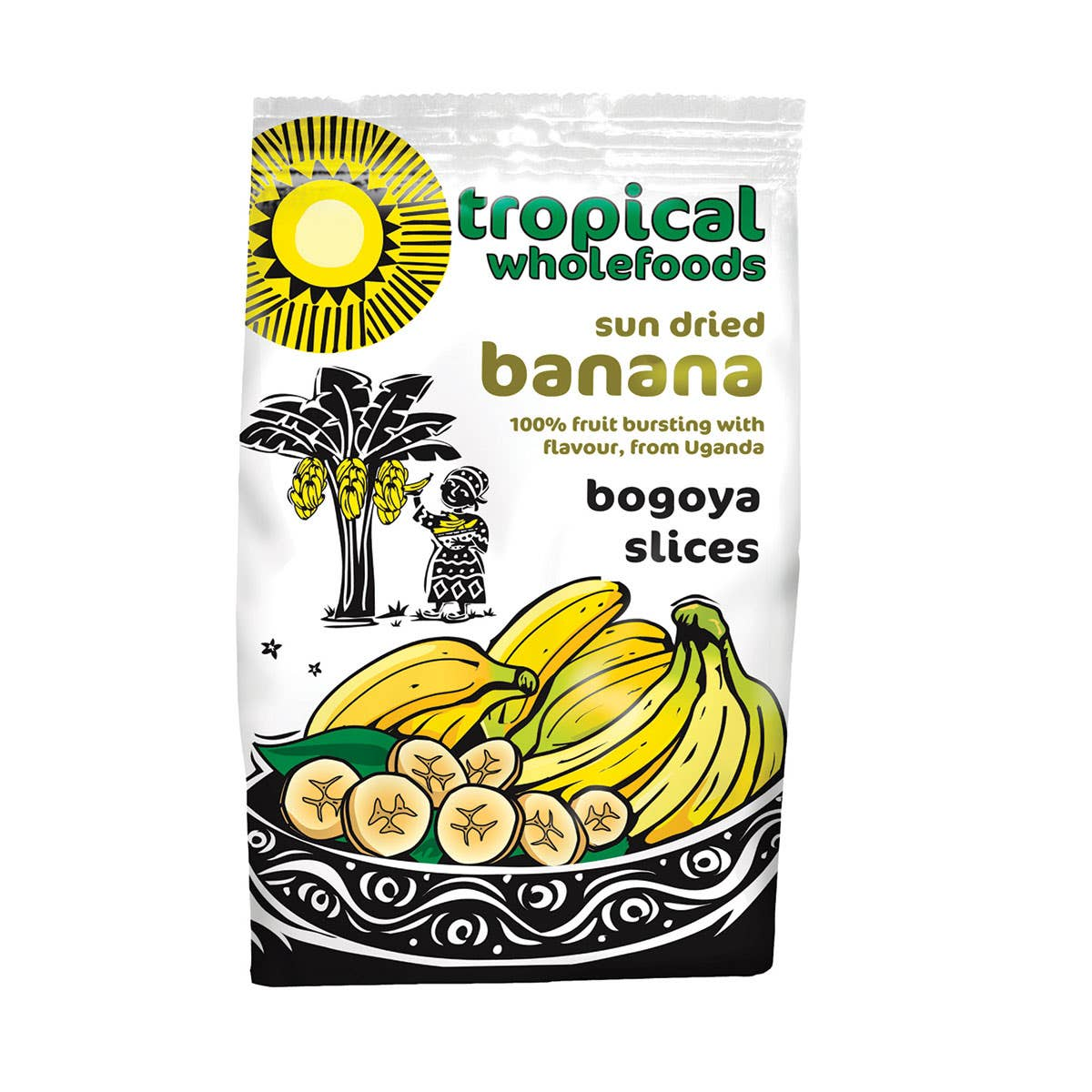 Tropical Wholefoods Organic Bogoya Banana (125g) CASE
