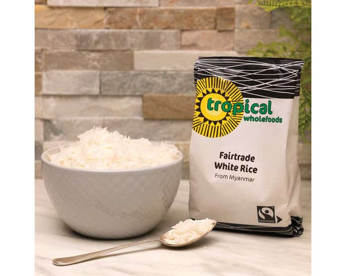 Tropical Wholefoods Long Grain Rice (500g)