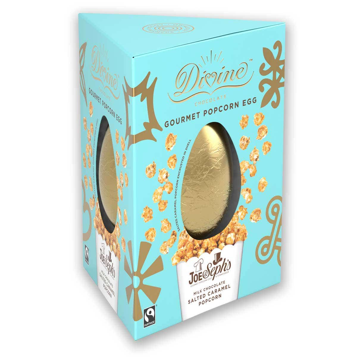 Divine Milk Chocolate Popcorn Easter Egg