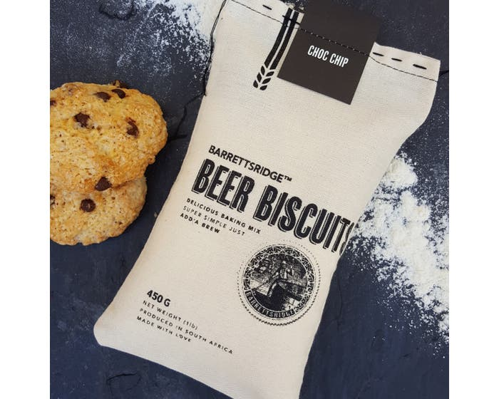 Chocolate Chip Beer Biscuits