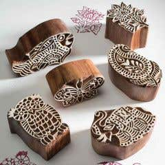 Handmade Traditional Indian Printing Block