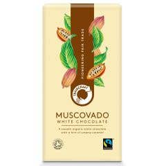 Traidcraft Organic Muscovado White Chocolate (100g)