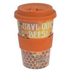 Save our Bees Rice Husk Reusable Coffee Cup