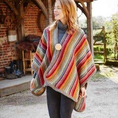 Women's 100% Wool Seville Wrap
