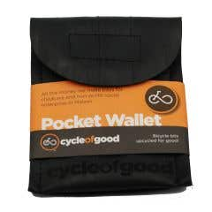 100% Recycled Bicycle Inner Tube Pocket Wallet