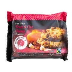 Traidcraft Chewy Fruit & Oat Cookies (45g)