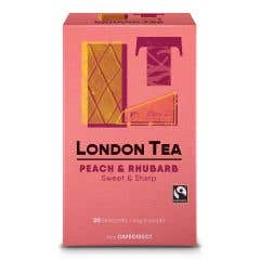 London Tea Company Peach & Rhubarb Tea (44g)