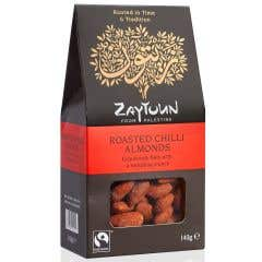 Zaytoun Roasted Chilli Almonds (140g)