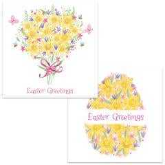Spring Daffodil Easter Cards