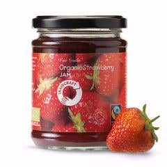 Traidcraft Organic Strawberry Jam (340g)