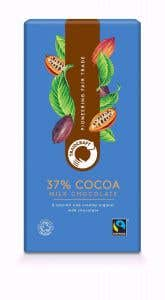 FairTrade Organic Milk Chocolate from Traidcraft