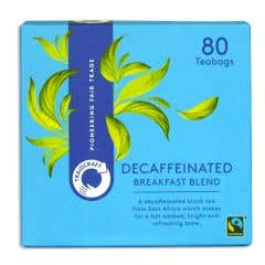 Traidcraft Breakfast Blend Decaffeinated Tea Bags (80 bags)