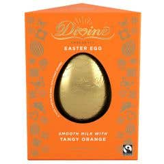 Divine Tangy Orange Milk Chocolate Egg (90g)