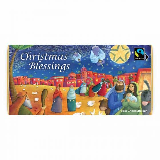 Meaningful Milk Chocolate Company Blessings Bar (80g) SINGLE
