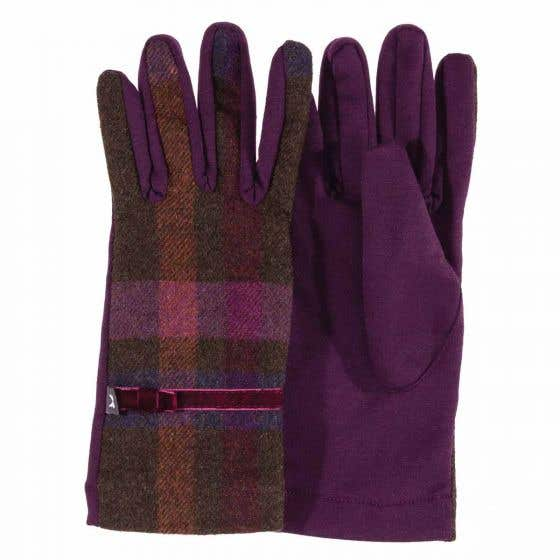 Mulberry Tweed Gloves