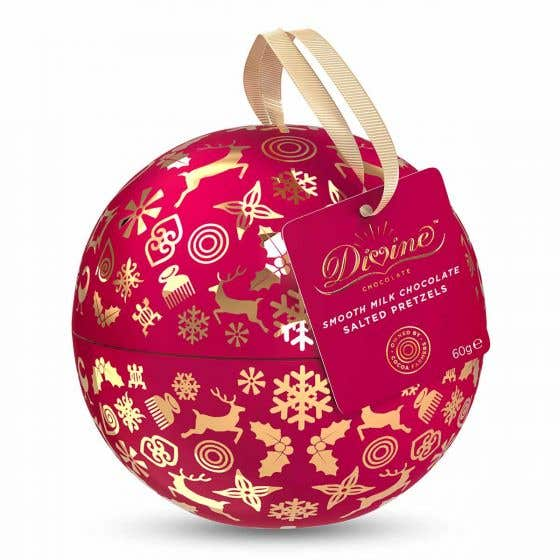 Divine Christmas Tin Bauble (60g) SINGLE