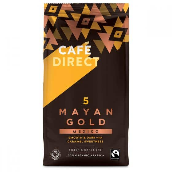 Cafedirect Organic Mayan Gold Ground Coffee (6x227g) CASE