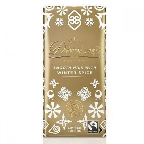 Divine Milk Chocolate with Winter Spice (90g)