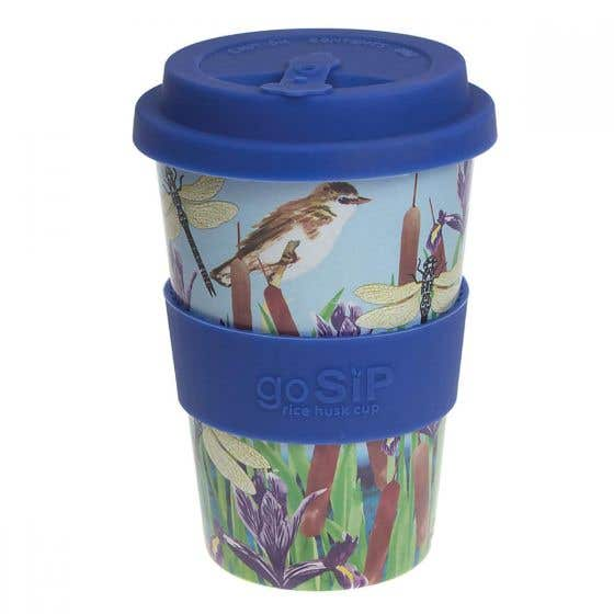 Dragonfly Rice Husk Reusable Coffee Cup