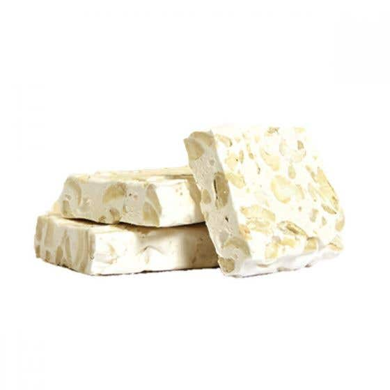 Altromercato Organic Soft Nougat with Honey and Cashew Nuts (90g) SINGLE