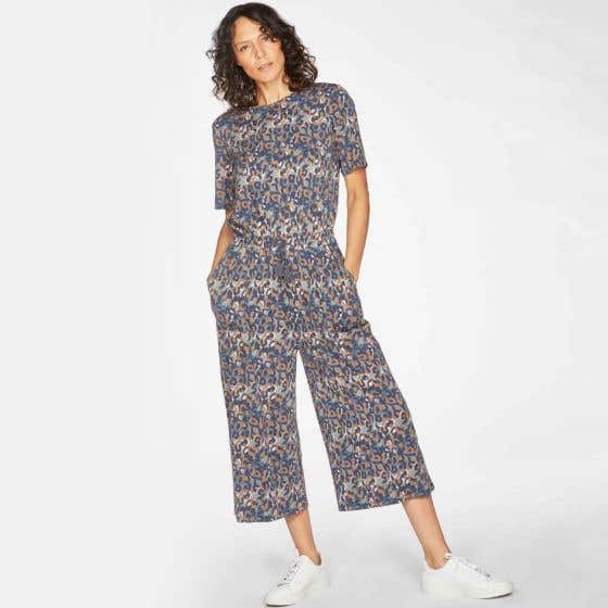 Thought Madelyn Bamboo and Organic Cotton Jumpsuit Size 12
