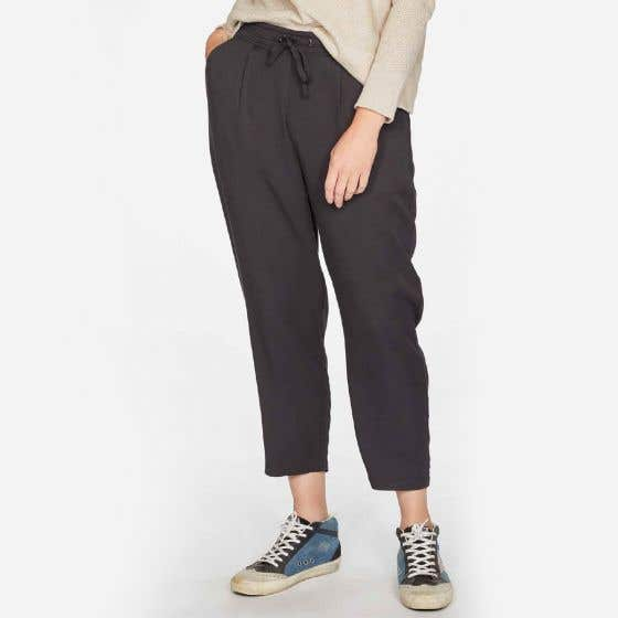 Thought Katie Viscose and Bamboo Blend Tie Waist Trousers Size 8
