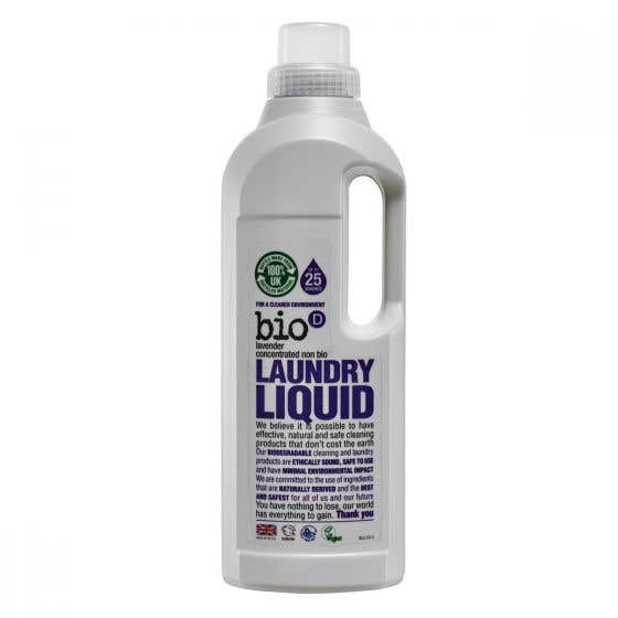 Bio-D Laundry Liquid with Lavender (1 Litre) CASE