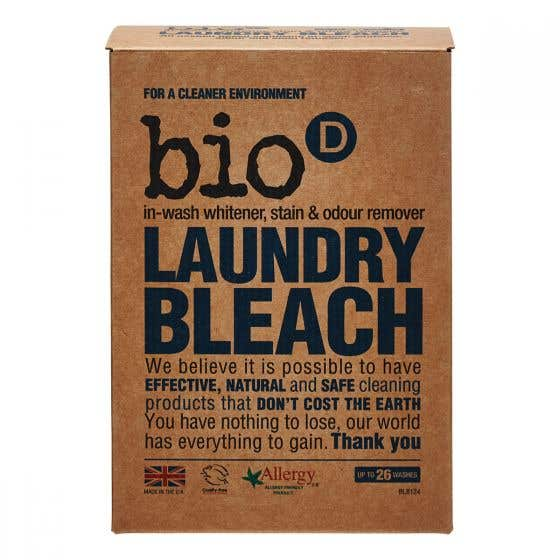 Bio-D Fragrance-Free and Hypoallergenic Laundry Bleach (400g) CASE