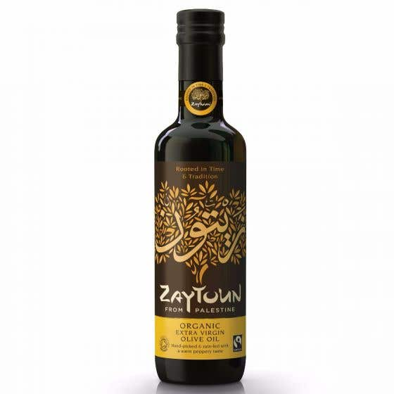 Zaytoun Organic Extra Virgin Olive Oil (500ml)