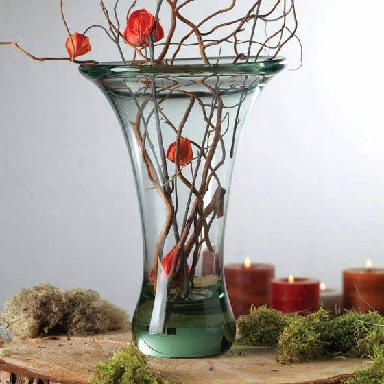 Ngwneya 100% Recycled Hand Blown Flared Glass Vase