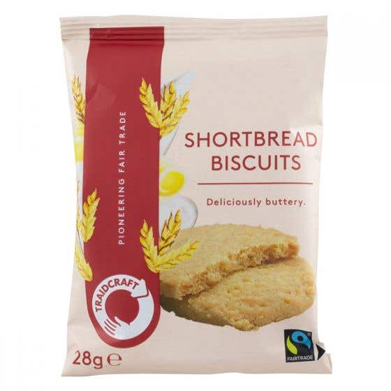 Traidcraft Shortbread Biscuits (28g)