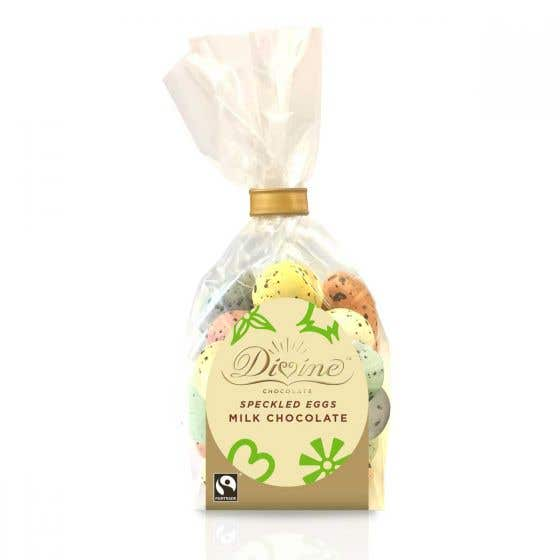 Divine Milk Chocolate Speckled Easter Eggs
