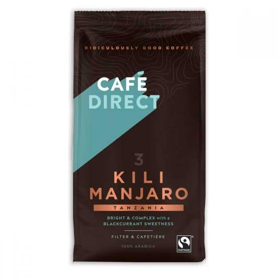 Cafedirect Kilimanjaro Ground Coffee (6x227g) CASE