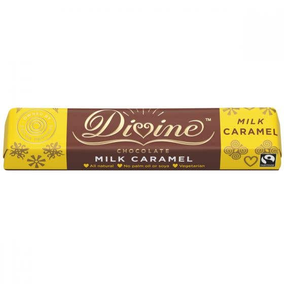 Divine Caramel Milk Chocolate (35g)