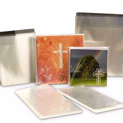Cello Bags to Fit 120x120mm Cards (pack of 50)