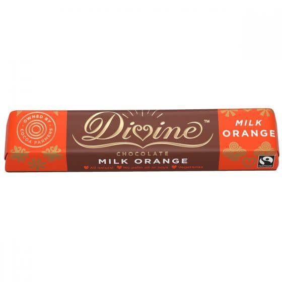 Divine Orange Milk Chocolate (35g)