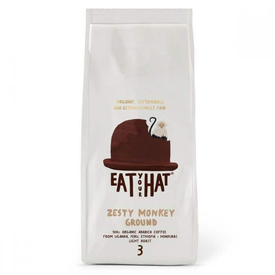 Eat Your Hat Zesty Monkey Ground Coffee (200g)