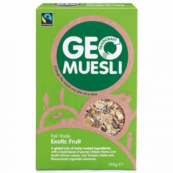 GeoMuesli Exotic Fruit (5x750g) CASE
