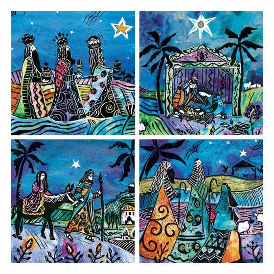 African Nativity Christmas Cards