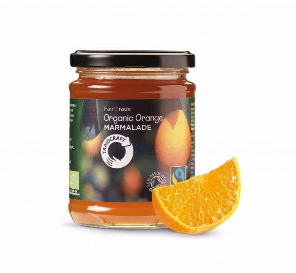 Traidcraft Organic Orange Marmalade (340g) SINGLE