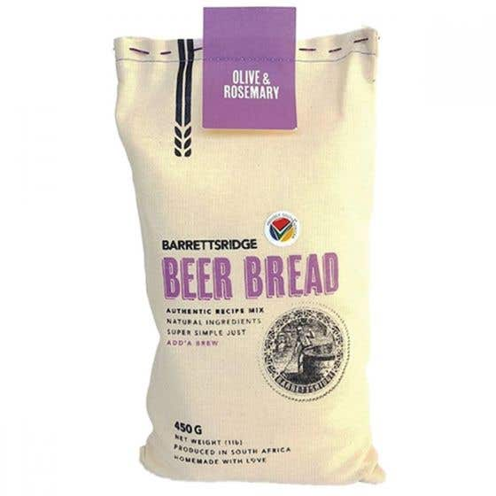 Olive & Rosemary Beer Bread
