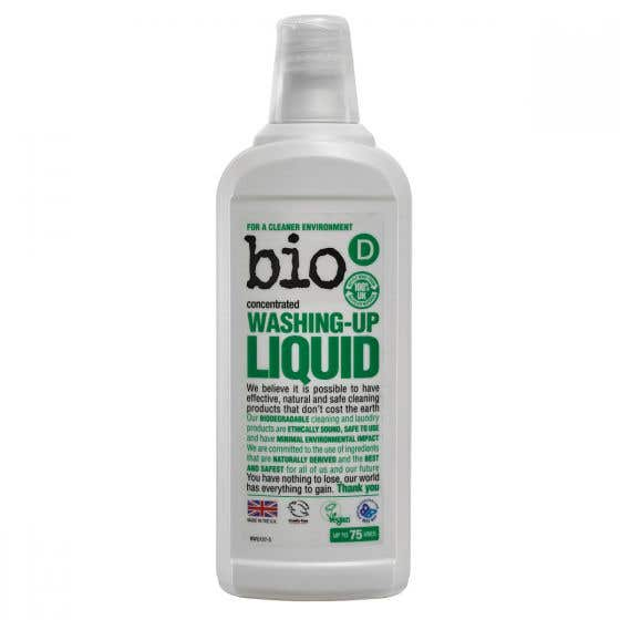 Bio-D Hypoallergenic Washing-Up Liquid (12x750ml) CASE