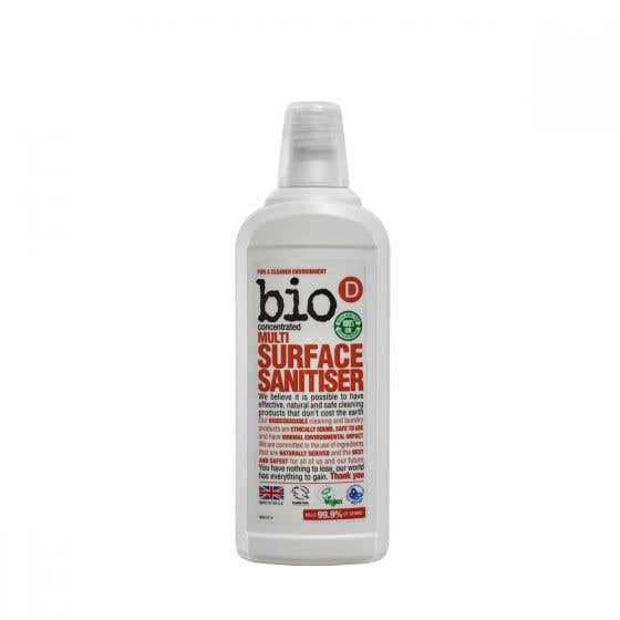 Bio-D Multi Surface Sanitiser (750ml) SINGLE