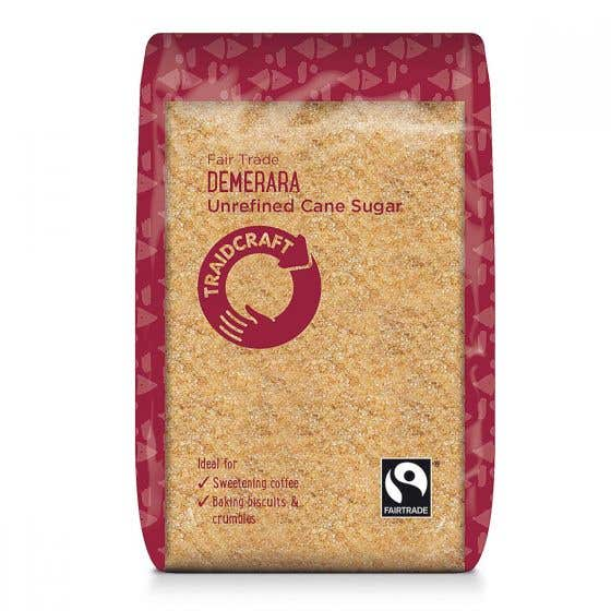 Traidcraft Demerara Sugar (500g) SINGLE