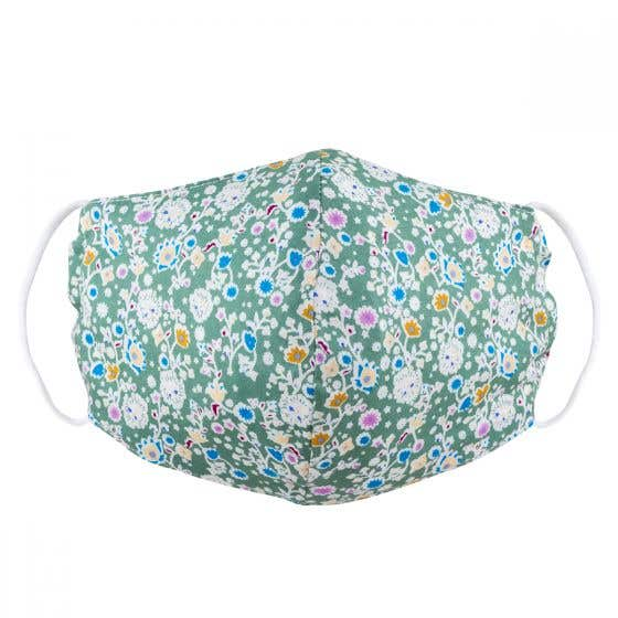 Fair Trade Floral Face Covering