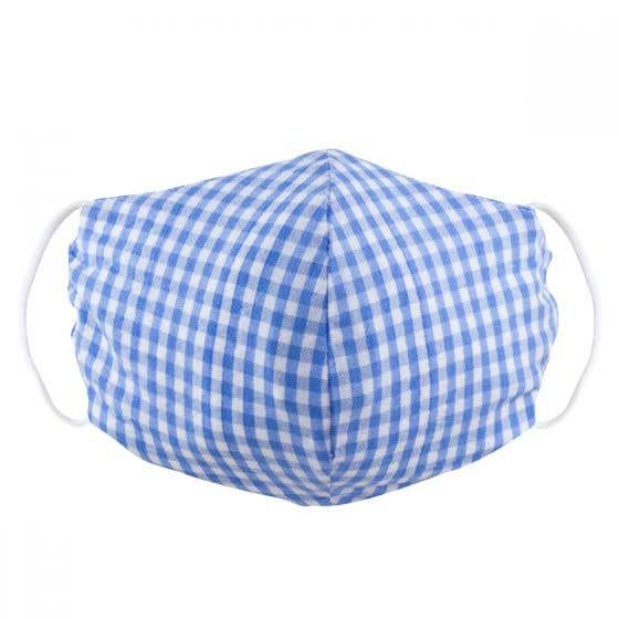 Fair Trade Striped or Gingham Face Covering