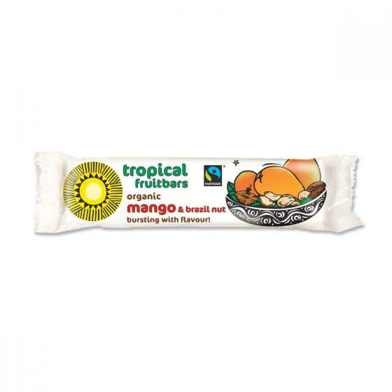 Tropical Wholefoods Fair Trade Organic Mango & Brazil Nut Bar