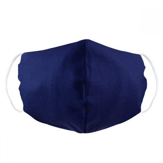 Fair Trade Navy Blue Face Covering