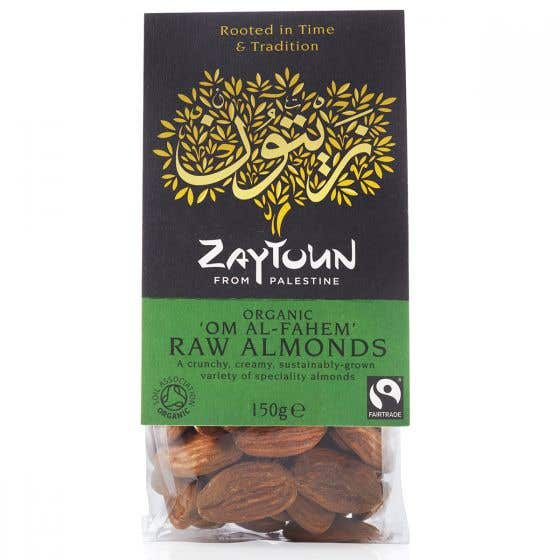 Zaytoun Almonds (6x150g) CASE