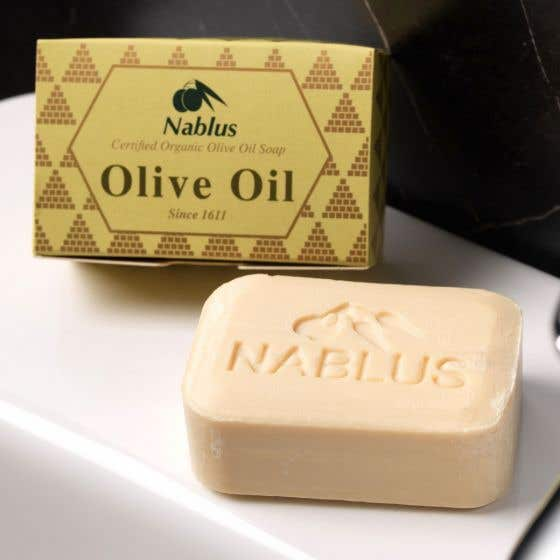 Nablus Pure Olive Oil Soap (100g) SINGLE